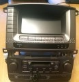 2004-2007 Lexus Lx470 Gps Navigation Multi-Display Tape Player A/C Panel Screen