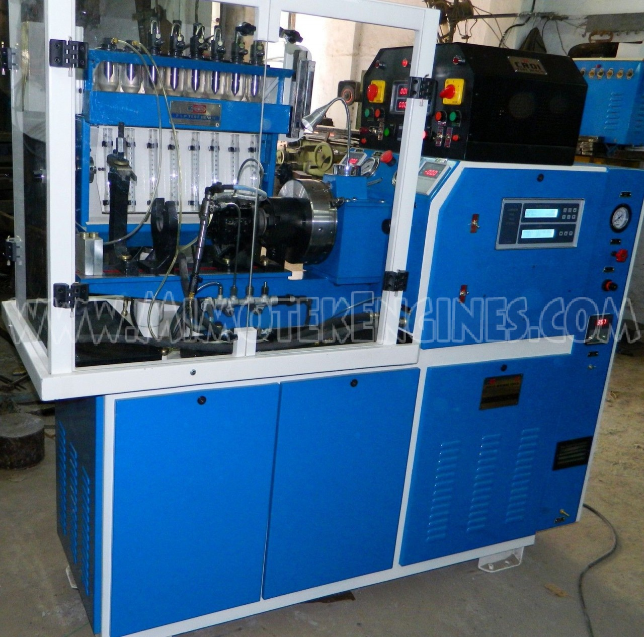 Multipurpose Diesel Injector Pump And Common Rail Test Bench